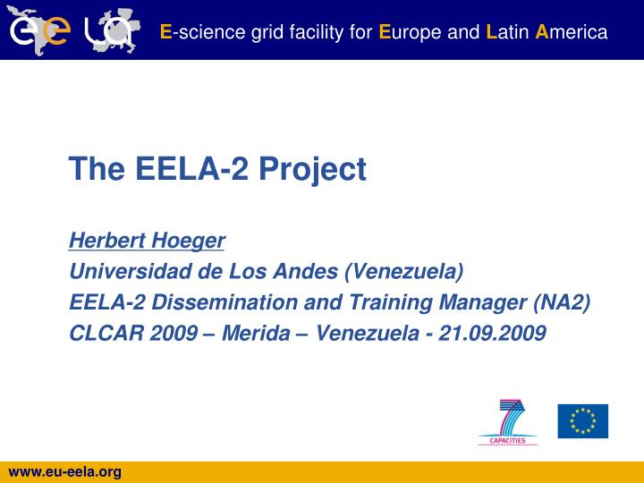 the eela 2 project