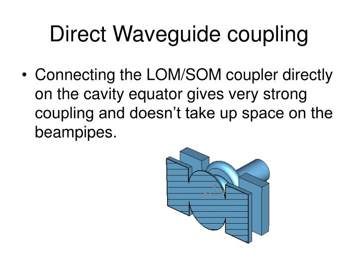 Direct Waveguide coupling