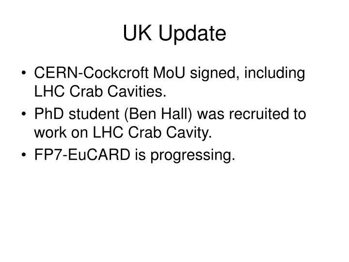 Uk update