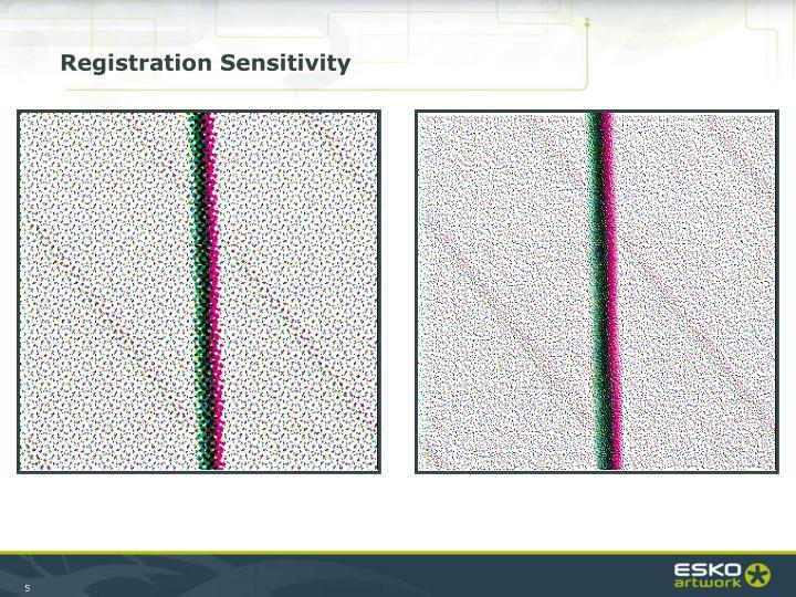 Registration Sensitivity
