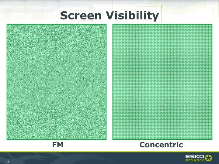 Screen Visibility