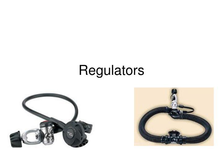 regulators n.