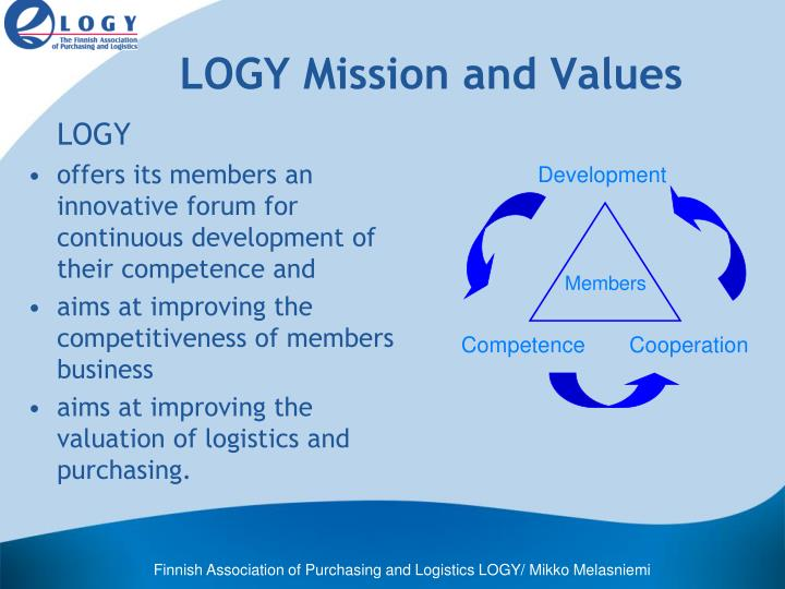 LOGY Mission and Values