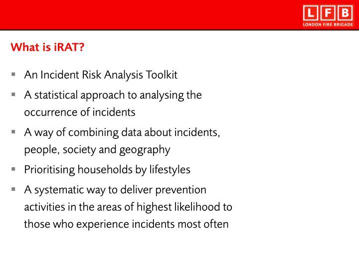 What is iRAT?