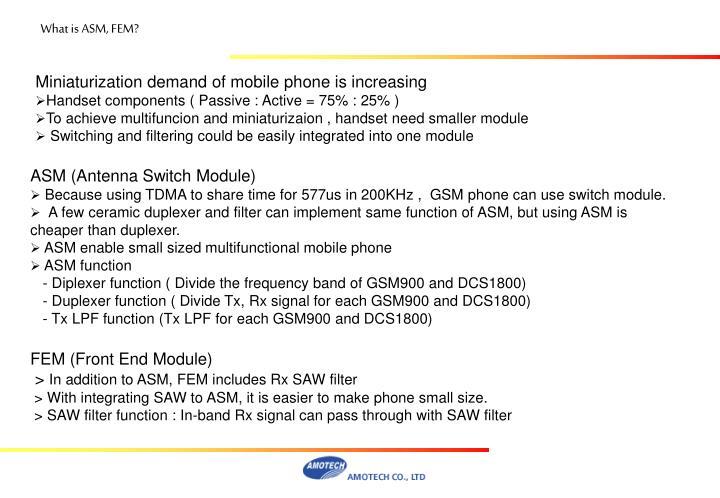What is ASM, FEM?