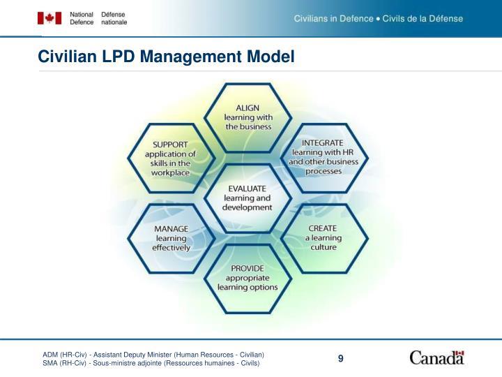Civilian LPD Management Model