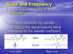 scale and frequency
