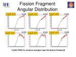 fission fragment angular distribution
