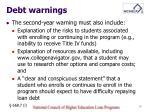 debt warnings4