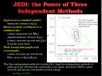jedi the power of three independent methods