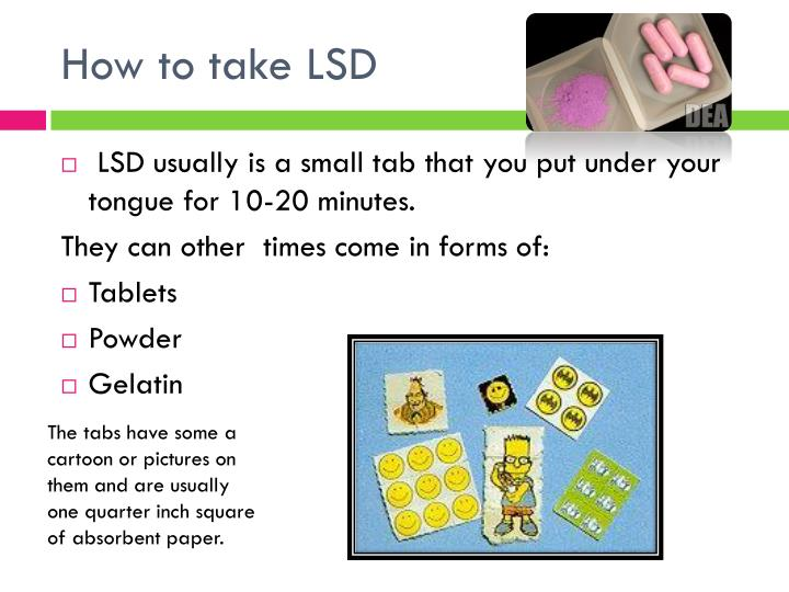 How to take lsd