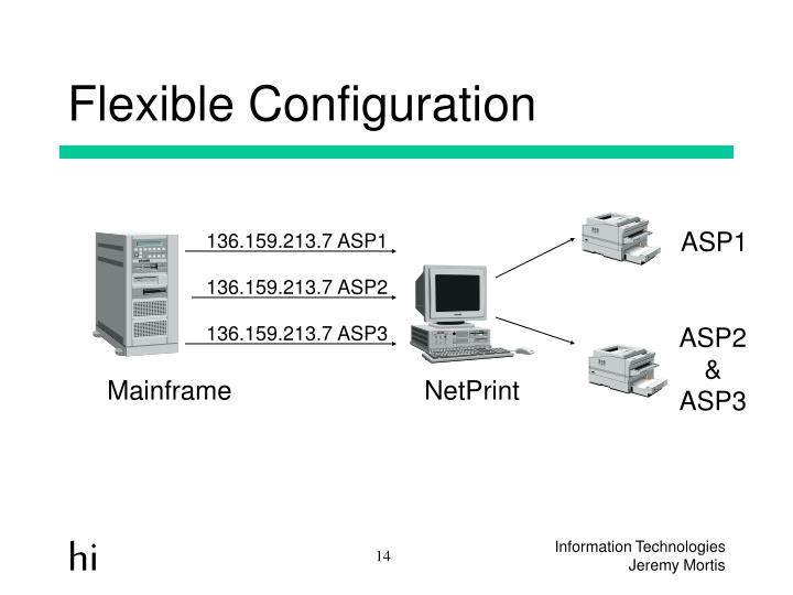 Flexible Configuration