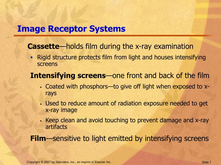 Image Receptor Systems