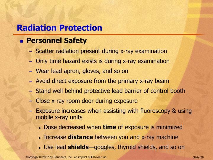 Radiation Protection