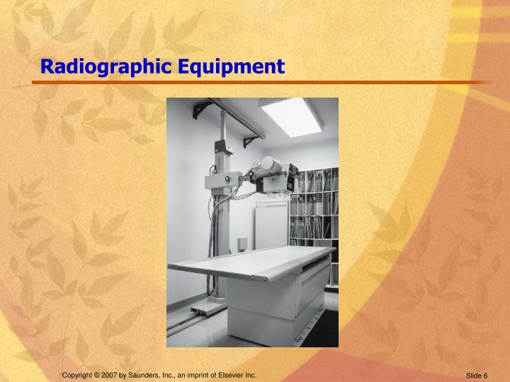 Radiographic Equipment