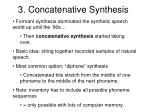 3 concatenative synthesis