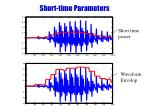 short time parameters