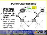 dundi clearinghouse