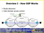 overview i how osp works