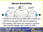 secure accounting