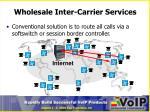 wholesale inter carrier services1