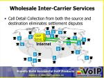 wholesale inter carrier services3
