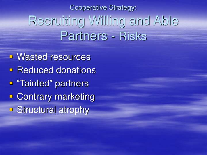 Cooperative Strategy: