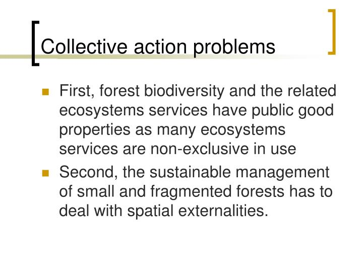 Collective action problems