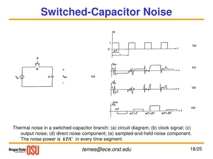 Switched-Capacitor Noise
