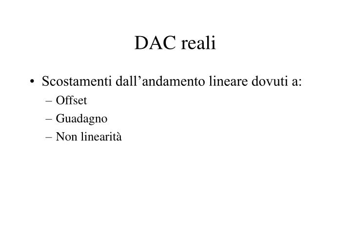 DAC reali