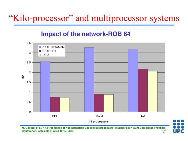 """""""Kilo-processor"""" and multiprocessor systems"""