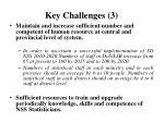key challenges 3