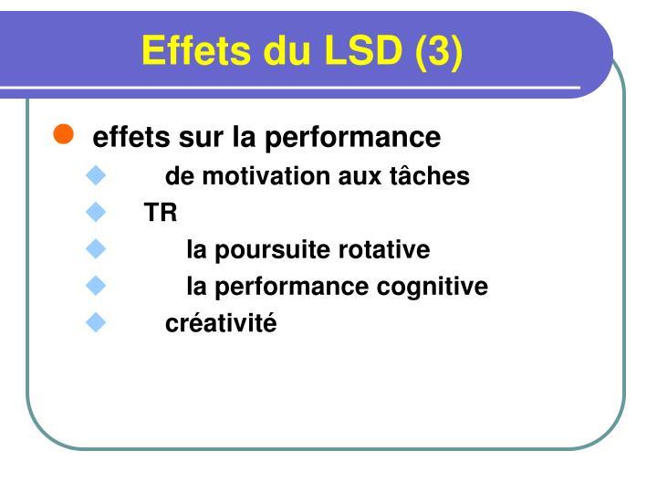 Effets du LSD (3)