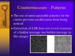 countermeasure patterns