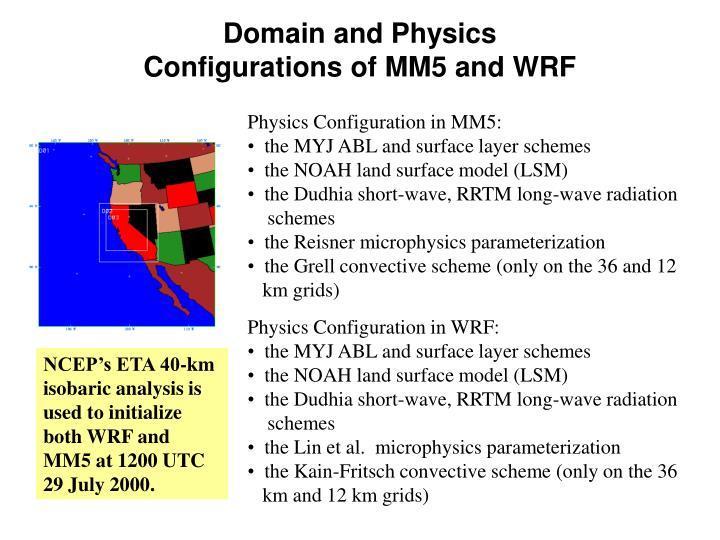 Domain and Physics