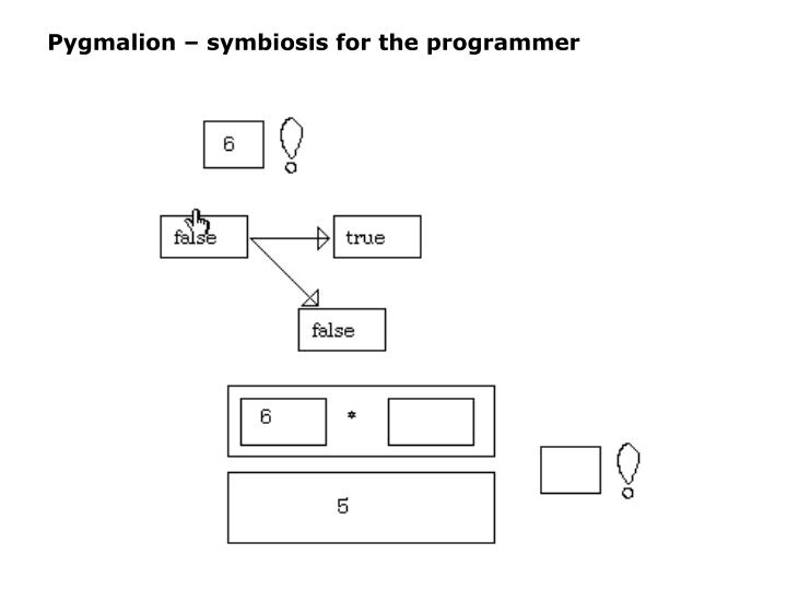 Pygmalion – symbiosis for the programmer