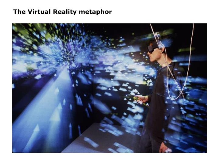 The Virtual Reality metaphor
