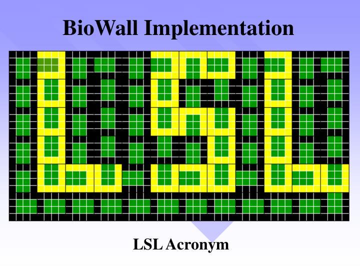 BioWall Implementation