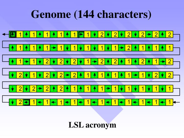 Genome (144 characters)