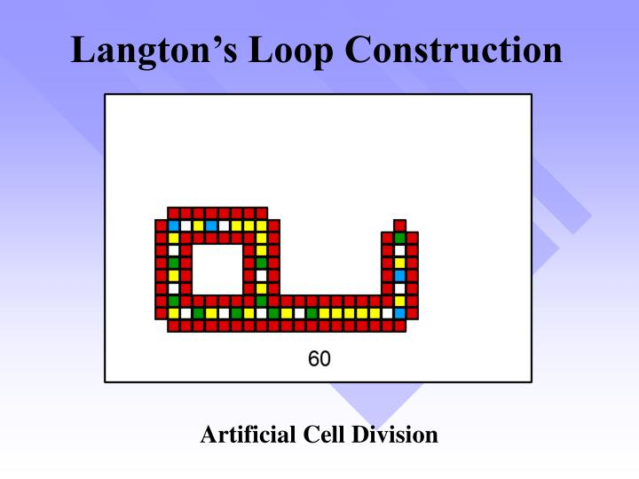 Langton's Loop Construction