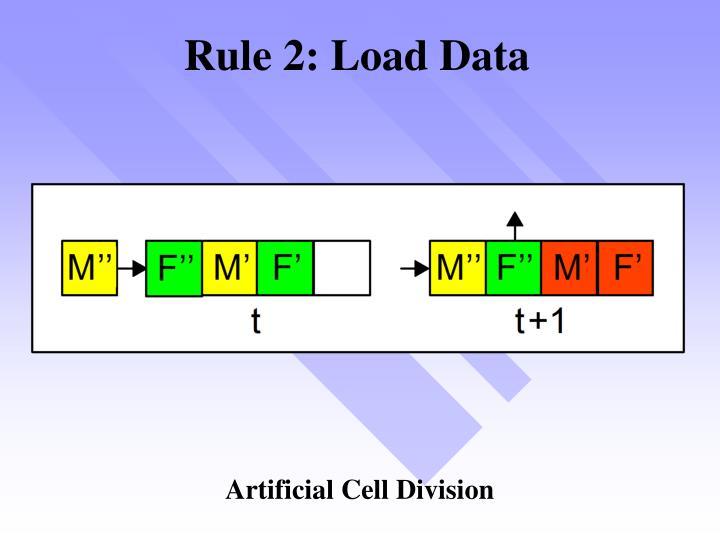 Rule 2: Load Data