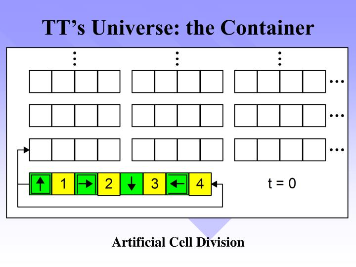 TT's Universe: the Container