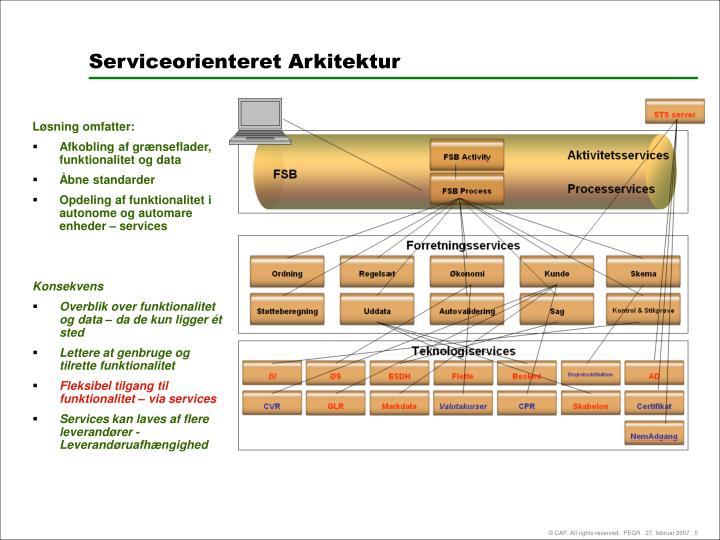 Serviceorienteret Arkitektur