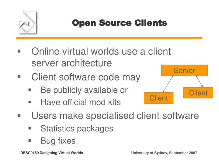 Open Source Clients