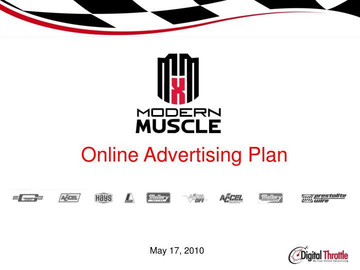online advertising plan