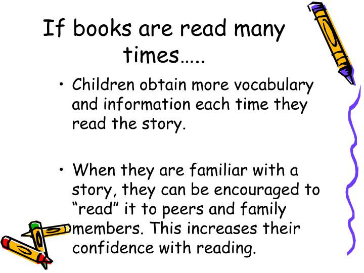 If books are read many times…..