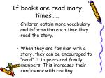 if books are read many times