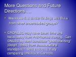 more questions and future directions1