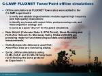 c lamp fluxnet tower point offline simulations
