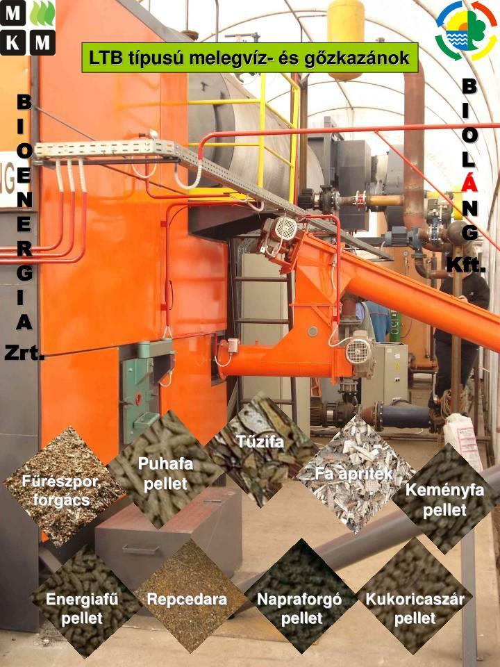 LTB típusú melegvíz- és gőzkazánok